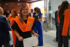 Krizia Deltell Clausura Máster en Dirección de Hoteles
