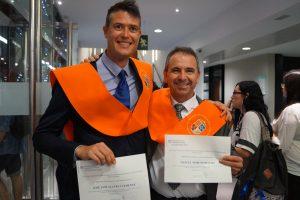 José Luis Alavés y Manuel Moreno Clausura Máster en Dirección de Hoteles