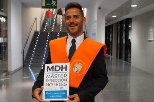 Miguel Albalat de hoteles Intur Clausura Máster en Dirección de Hoteles