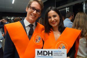 Bruno Gay y Marina Orts Clausura Máster en Dirección de Hoteles