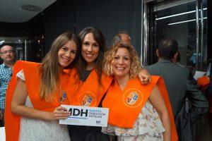 Esther Llorente, Paula Zapata y Tania Martínez Clausura Máster en Dirección de Hoteles