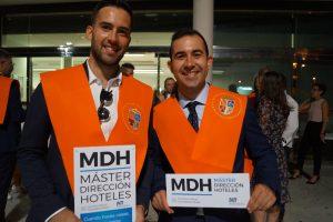 Raúl Godoy y Simón Larrull Máster en Dirección de Hoteles