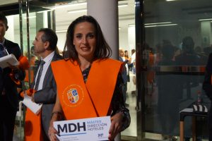 Gema Álvarez Clausura Máster en Dirección de Hoteles