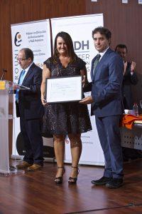 Reconocimiento HOSBEC Nuria Montes (Secretaria general)