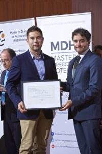 Reconocimiento Asociación de Campings de Alicante Juan Delgado (Presidente)