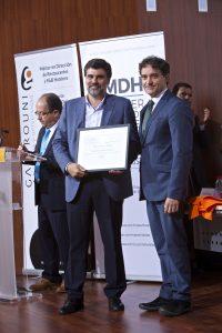 Reconocimiento Asociación de Hoteles Alicante Sur Vicente Medina (Presidente)