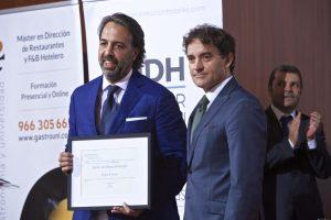 Reconocimiento Mauro & Sensai Emilio del Barrio (Director)