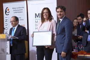 Reconocimiento Asociación Provincial de Hoteles y Alojamientos Turísticos de Alicante (APHA) Isabel González Nuevo (Presidenta)