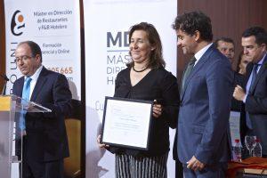 Reconocimiento Asociación de empresarios de Hostelería y turismo de la Marina Alta (AEHTMA) Cristina Sellés Martínez (Presidenta)