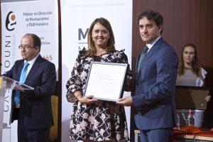Reconocimiento Asociación Turismo Alicante Interior , recoge Cintia Culiañez